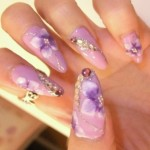 summer nail art ideas 3d
