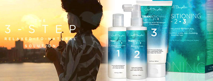Thinking Of Growing Your Natural Hair But Fuss Free Try Carol's Daughter Transitioning Kit