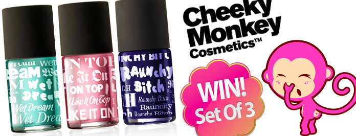 Cheeky Monkey Cosmetic Nail Polish Review & Competition (closed)