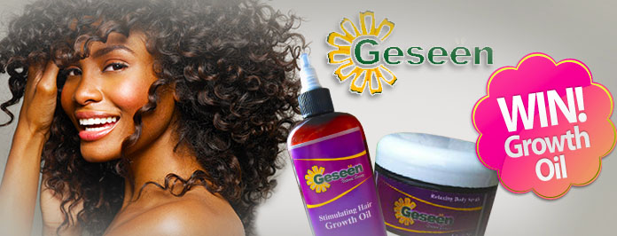 Geseen Natural Hair Products & Stimulating Hair Growth Oil Competition (closed)