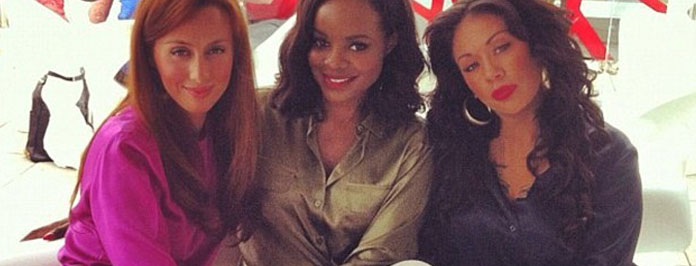 Celeb Spotter: Mutya Keisha Siobhan Attend Olympic Opening Ceremony