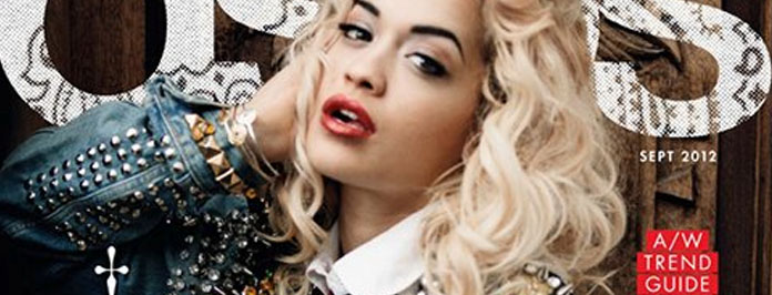 Rita Ora Lookin Smokin Hot For ASOS Magazine Fashion Spread September 2012