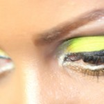Beautiful Yellow Water Lilly Eyeshadow