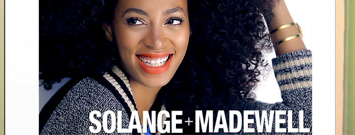 Solange Knowles Models Fall 2012 Madewell Campaign (VIDEO)