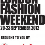 london fashion weekend 2012 logo