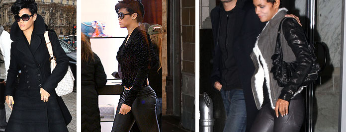 I Want Her Celeb Look: Rihanna & Halle Berry Leather Trousers, Shop The Look