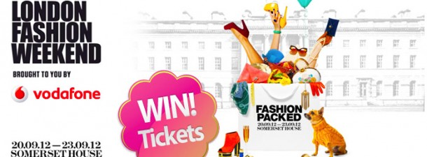 VODAFONE LONDON FASHION WEEKEND TICKET GIVEAWAY