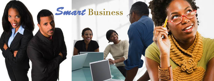 black business man & women