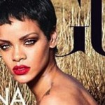 Red Hot Rihanna Front Cover For Vogue Magazine 2012