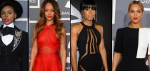 2013 Grammy Awards Red Carpet Outfits