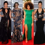 The 2013 Grammy Awards Red Carpet Outfits