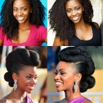 celebrity afro hairstyle