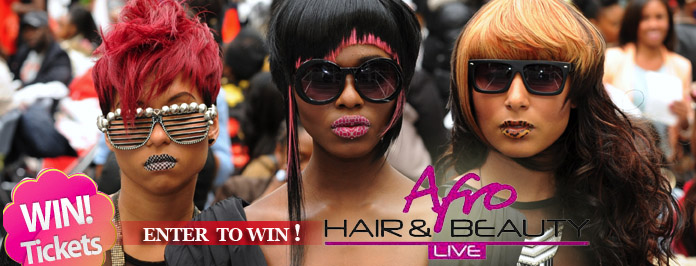 Afro Hair & Beauty Live 2013 Ticket GIveaway