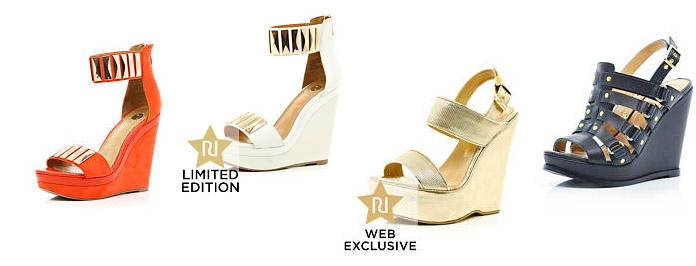 Exclusive River Island Summer Wedges Must Haves