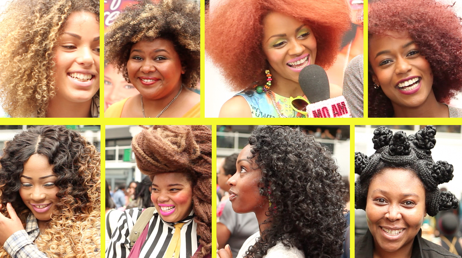 Braided China Bumps, Ombre Dipped Weave, Kinky Curls & More At Afro Hair & Beauty Live