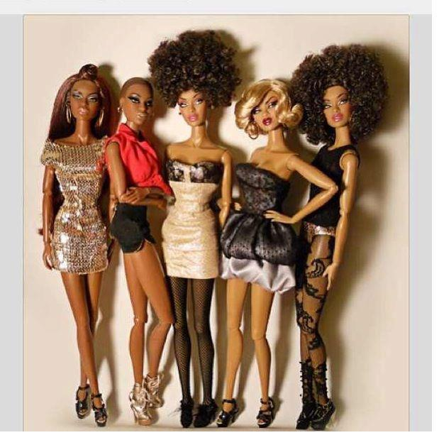 Pin It: Awesome, Funky & Fabulous Afro Black Doll Images