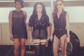"Exclusive: MKS (Original Sugababes) ""Flatline"" Behind The Scenes Video Fashion"