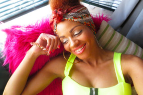 Fuss Free Afro Hair Bun, Style For Hot Days