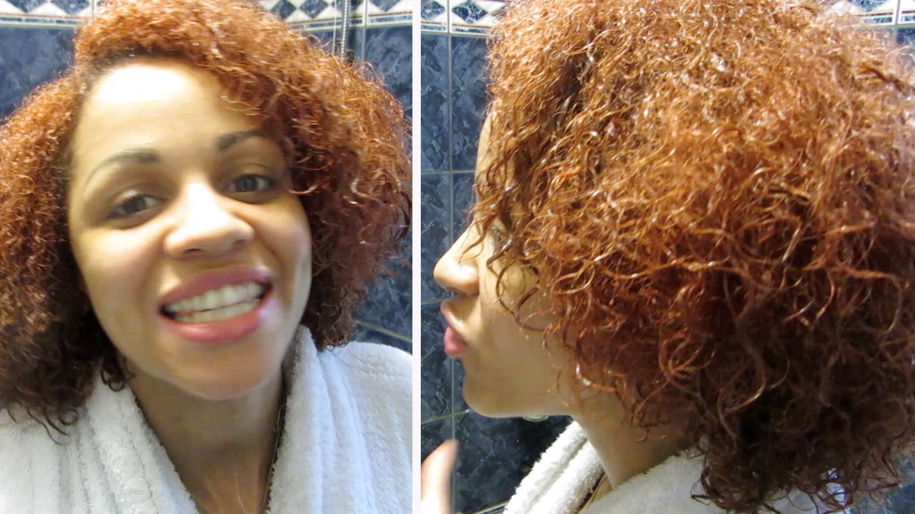 Natural Hair Journey: My Wet Hair Curl Pattern