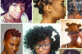 Bantu Knot-Outs  Styling (Natural Hair)