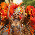 The Annual Notting Hill Carnival Celebrations Take Place