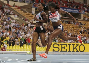 World Athletics 2013: Christine Ohuruogu Photo Finish Snatches Gold Victory Huge Congrats!