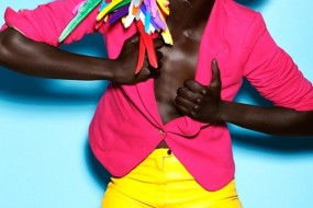 Love It Pin It: Black Girls In Eye Popping Colour