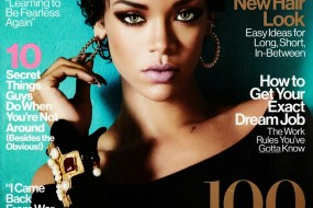 Rihanna, Sex Life, Selfies, New Hairstyle  & That Hot Glamour Cover!