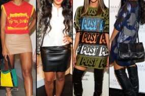 NYFW Hot Trends: Adrienne Bailon, Ciara, Angela Simmons, Solange, Selita Ebanks