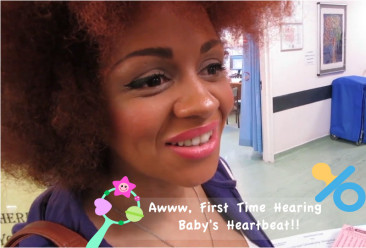 Awww, First Time Hearing Baby's Heartbeat!