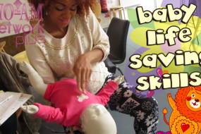Eeeaak Don't Panic! Save Your Babies Life With Infant First Aid!