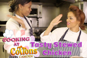 Cooking At Cottons Camden: Tasty Caribbean Stewed Chicken