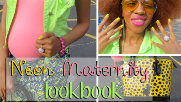 Funky Neon Maternity Lookbook