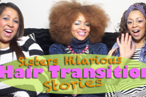 Me & My Sisters Natural Afro Hair Journey Horror Stories!!