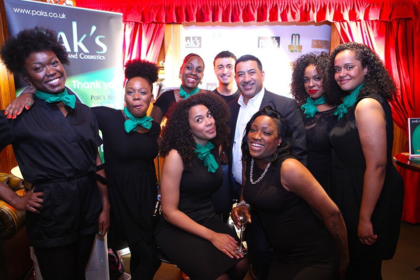 paks cosmetics team