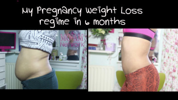 My Pregnancy Weight Loss Tips: Before & After 161lbs to 116.2lbs