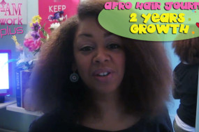 Wow, 2 Years Natural Hair Journey Growth Debbilucy Update