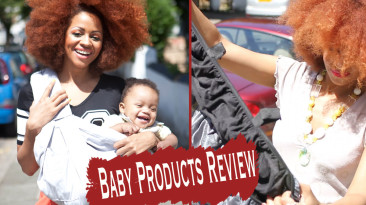 Helpful Baby Products For Busy Mums: Babasling & SnoozeShade Review