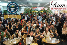 Win Tickets To Guinness World Record Attempt: The Largest Rum Tasting