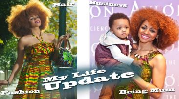My Famiily , My Business, My Hair, My Life Update