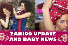 Zanjoo Update: New Model & Sneak Peek Collection & Baby News!