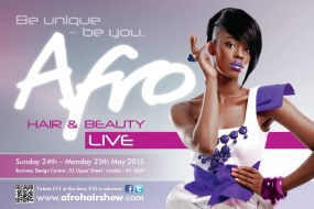 Afro Hair & Beauty Live 2015 Ticket Giveaway