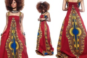 The Stunning Jooaku Dashiki Maxi Prom Dress