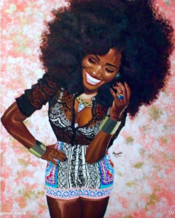 Top 5 Black Art Afro Illustrations