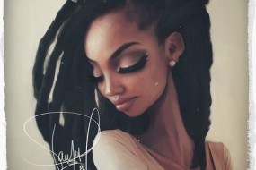 Black Art: Style on dread lock