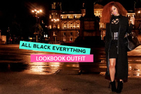 All Black Everything Lookbook